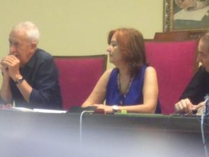 La Conferencia, con Marina Bueno, Gerardo Gutiérrez y Andrés Borderías